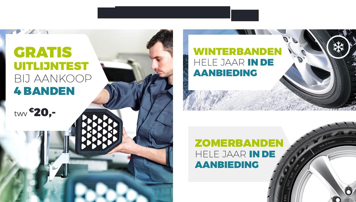 Online banden kopen Breda